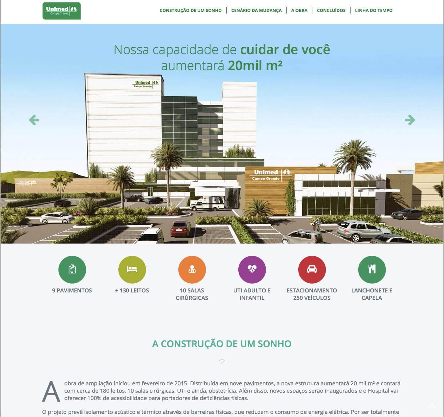 hotsite_ampliacao_hospital_unimed_cg